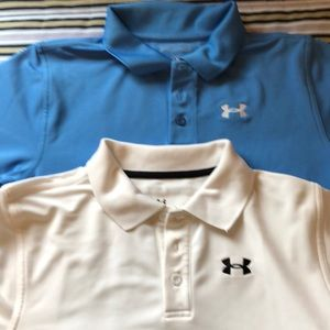 2 Youth Under Armour Shirts